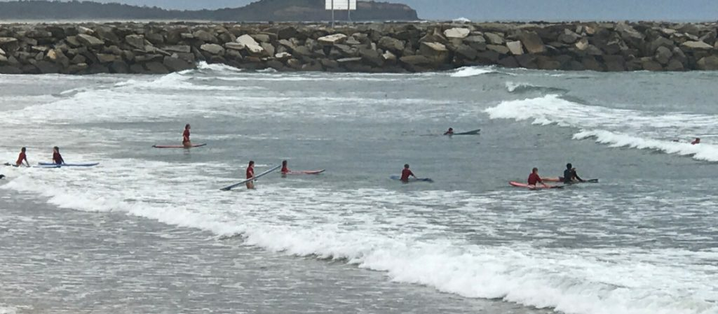Psychology of a Surf School